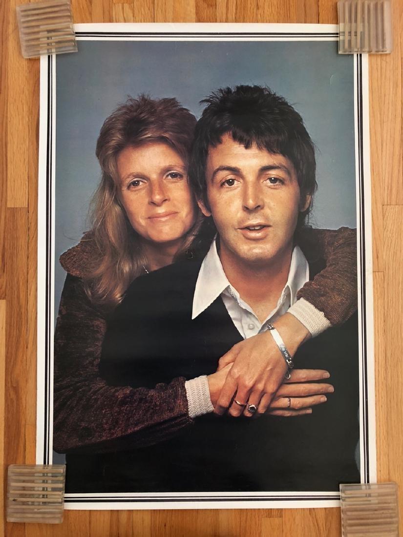 Paul and Linda McCartney Poster