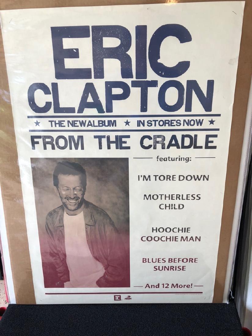 ERIC CLAPTON REPRISE RECORDS PROMO