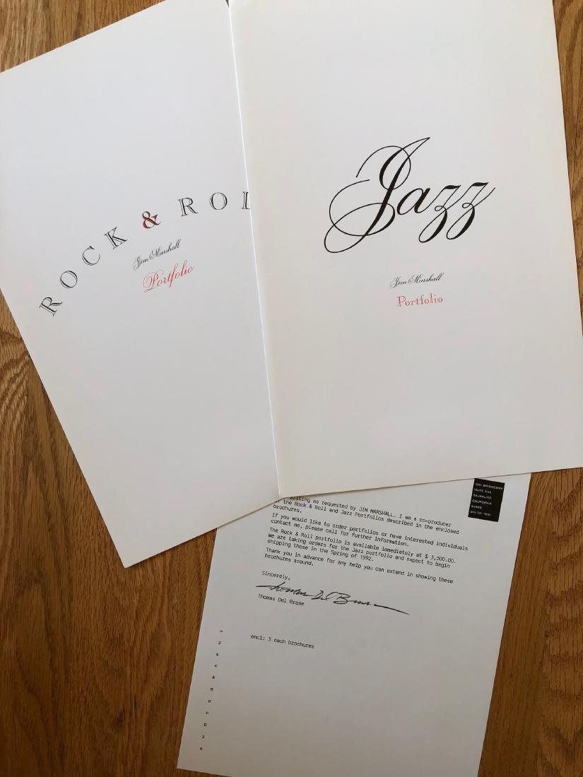 RARE 1992 JIM MARSHALL PORTFOLIO OFFER