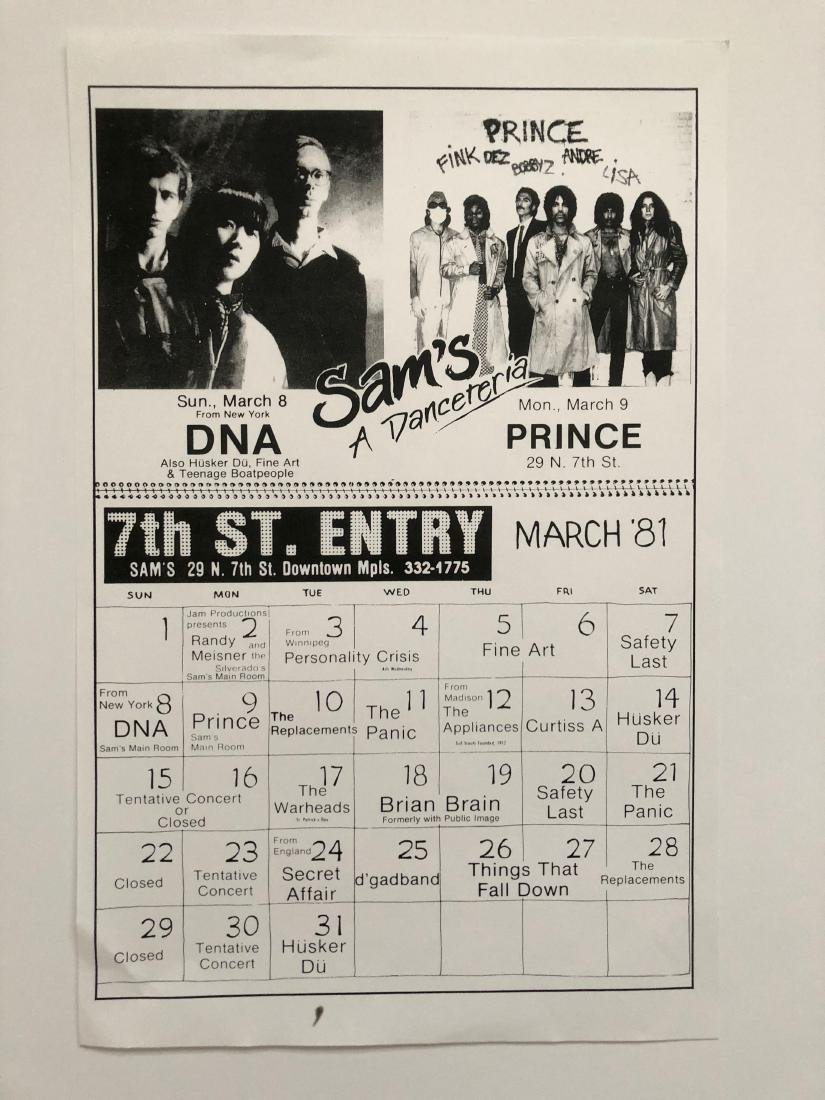 RARE ! PRINCE IN CONCERT FIRST AVE
