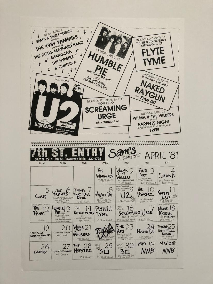 U2 - FAMOUS FIRST USA TOUR