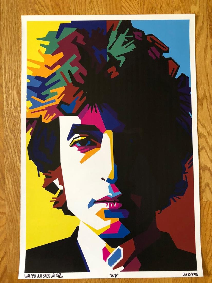 FIRST TIME OFFERED IN THE USA - BOB DYLAN - ARTIST