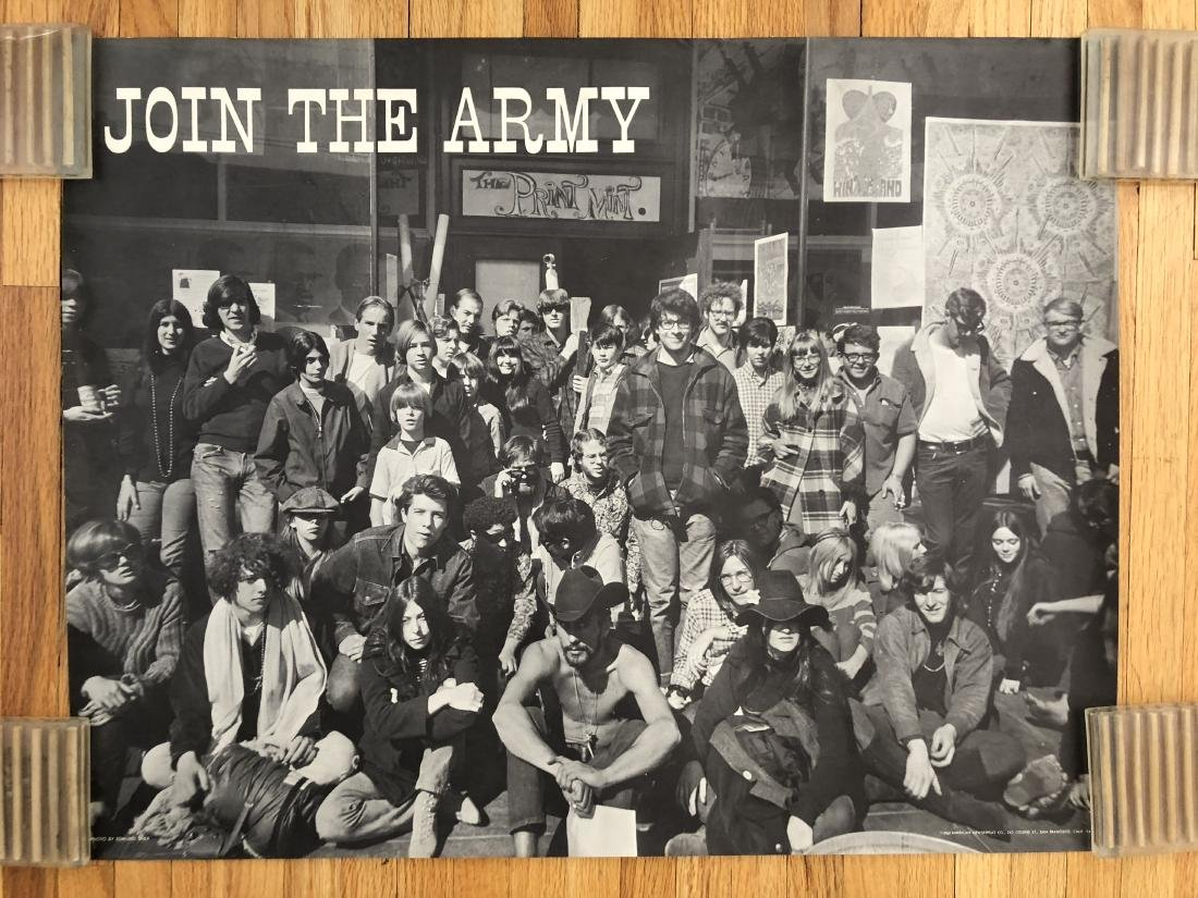 RARE - JOIN THE ARMY - THE PRINT MINT POSTER !