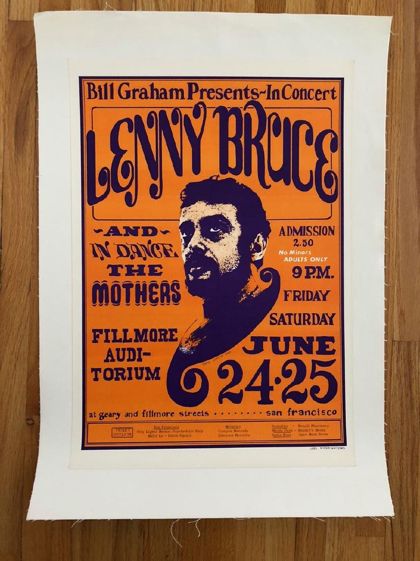 Lenny Bruce 1966