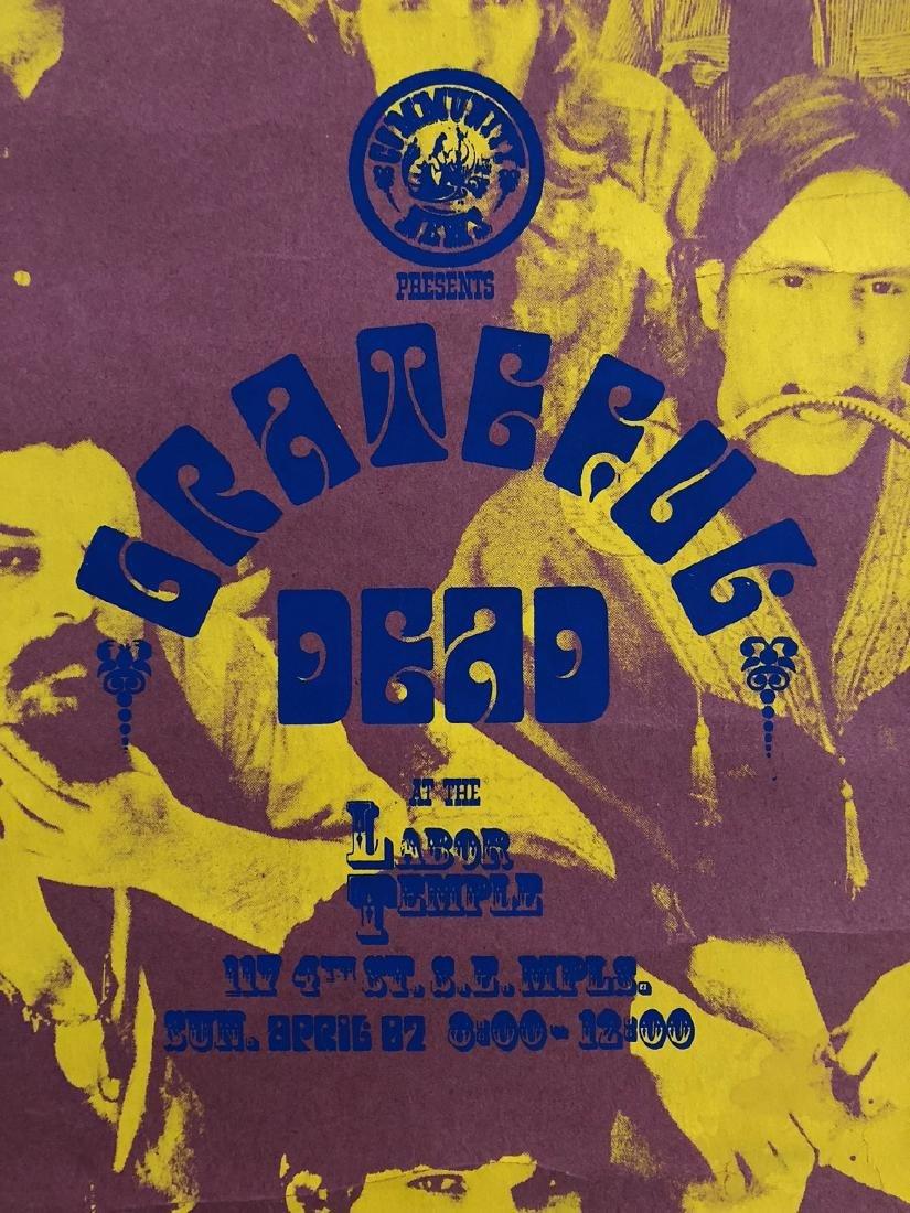 RAREST OF RARE GRATEFUL DEAD POSTER - 7