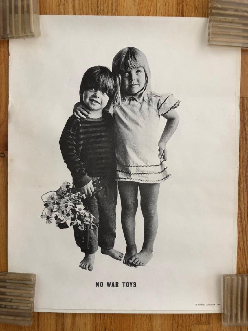 1967 ANTI-WAR Poster - NO WAR TOYS