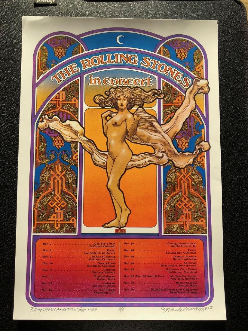 DAVID BYRD - Rolling Stones Altamont Concert - Signed