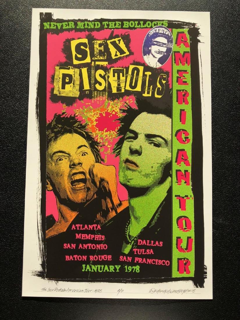 DAVID BYRD - Sex Pistols - Signed Artists Proof