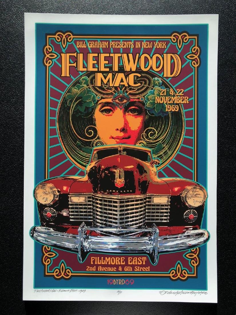 DAVID BYRD - Fleetwood Mac - Signed Artists Proof