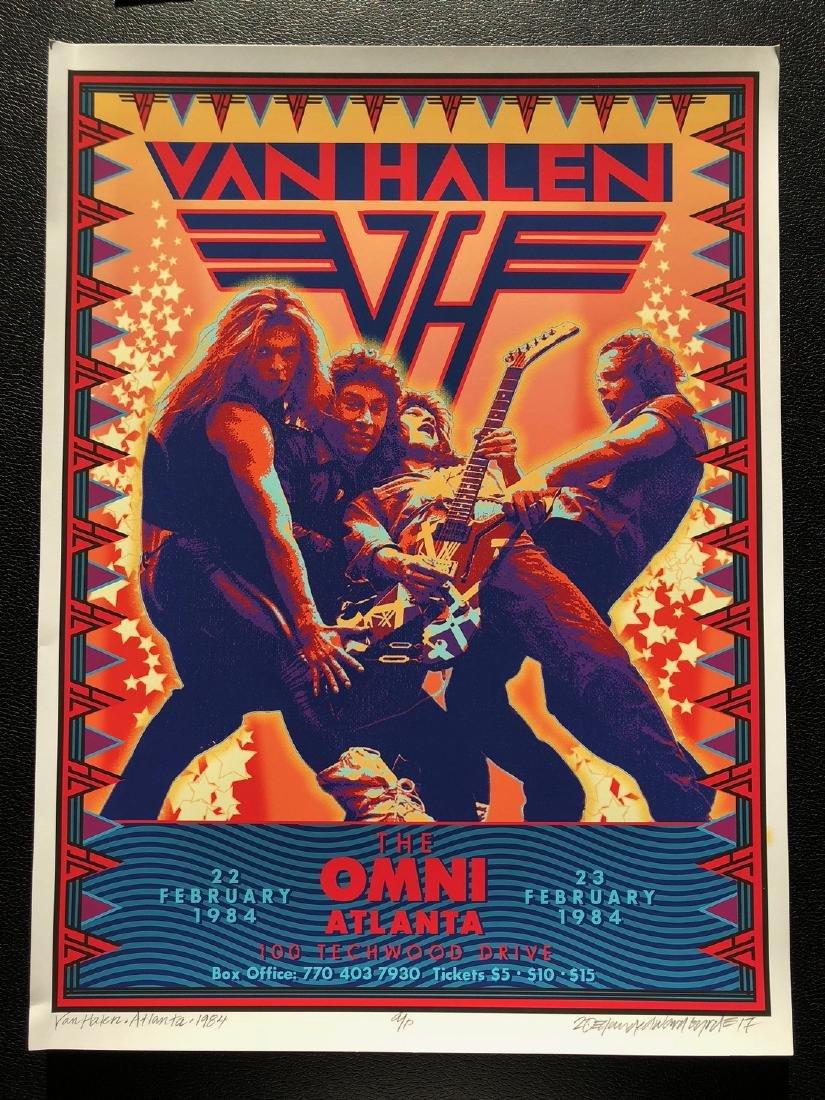 DAVID BYRD - Van Halen - Signed Artists Proof