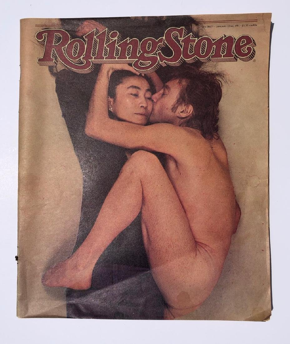 Lennon / Ono Nude Rolling Stone Cover