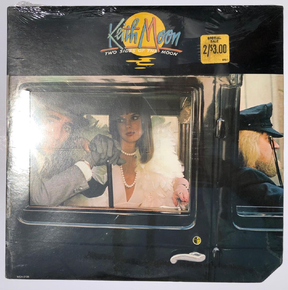 KEITH MOON - TWO SIDES OF THE MOON - STILL SEALED !!!