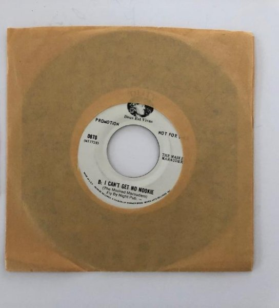 I CAN'T GET NO NOOKIE - THE MASKED MARAUDERS - RARE