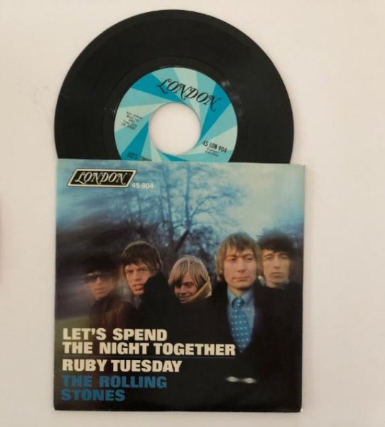 LETS SPEND THE NIGHT TOGETHER - RUBY TUESDAY - ROLLING