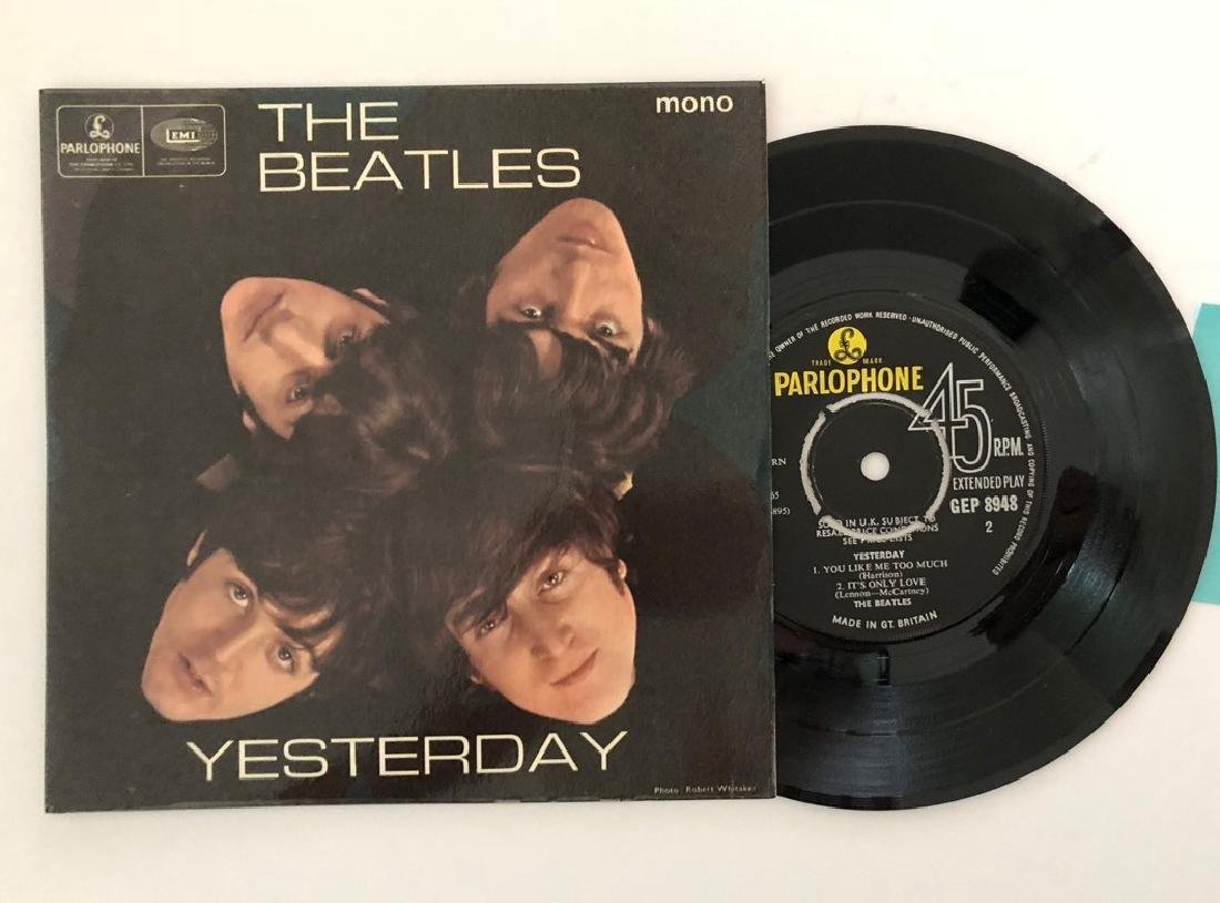 THE BEATLES - YESTERDAY - PARLOPHONE - RARE