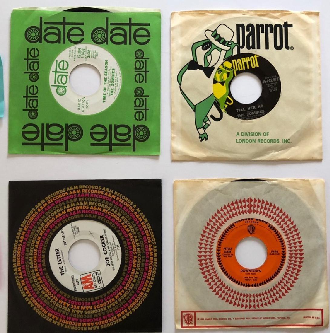 45 RPM RECORD SET - RARE RADIO STATION COPY
