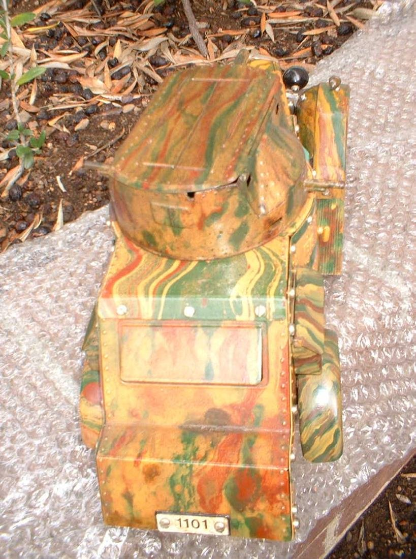 """The """"Holy Grail"""" of the Marklin military toys, the - 3"""
