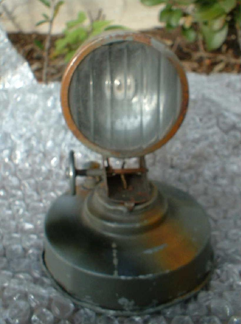 1938 Hausser Morse Searchlight, Made in Germany, c9