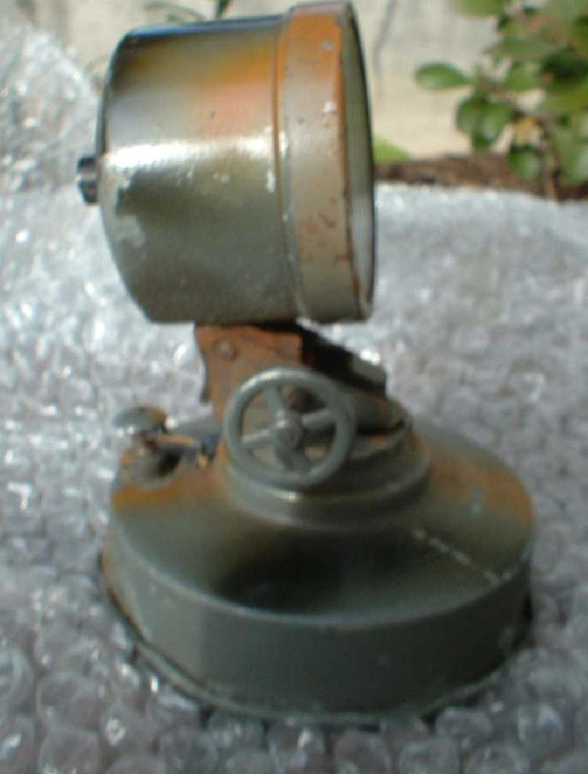 1938 Hausser Morse Searchlight, Made in Germany, c9 - 2