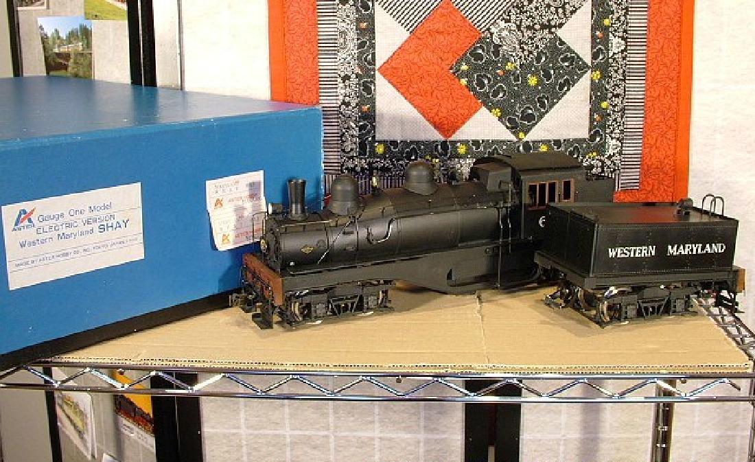 Aster West Maryland Shay No. 6 brass/steel locomotive,