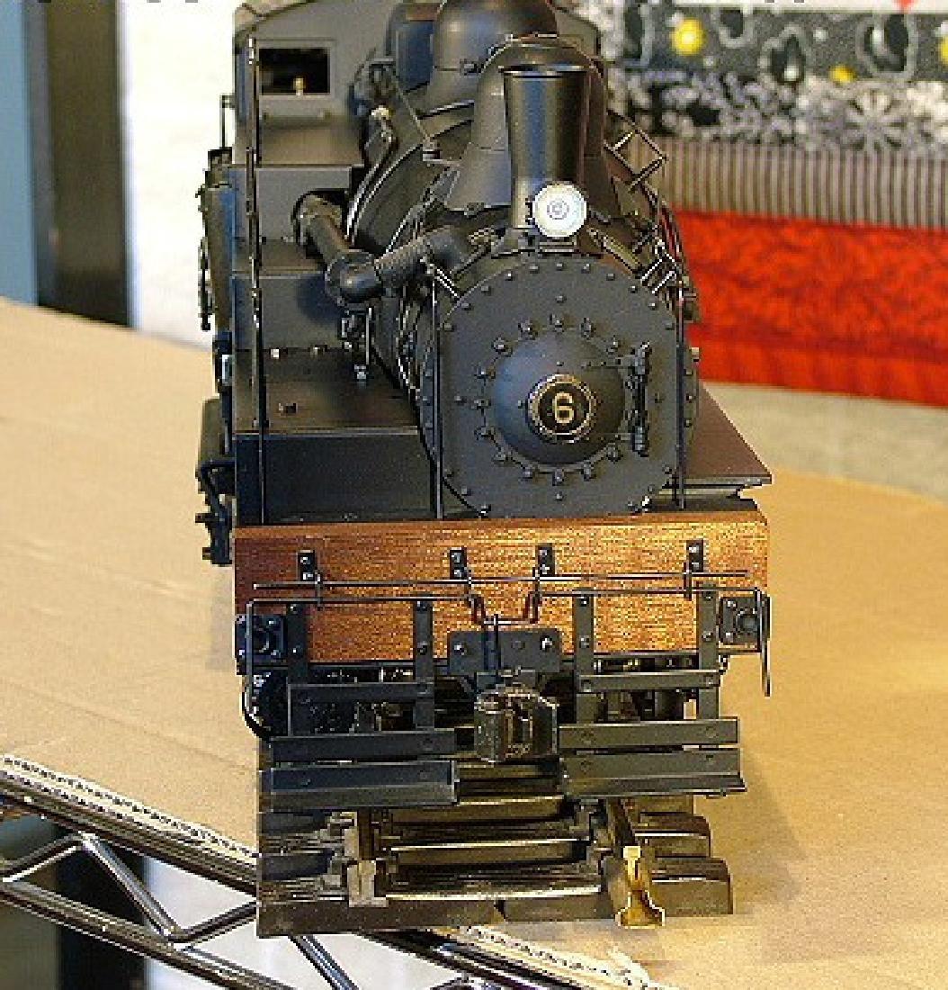 Aster West Maryland Shay No. 6 brass/steel locomotive, - 7