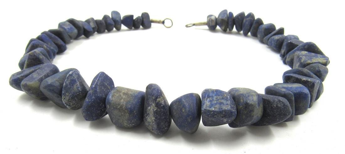 Ancient Roman Lapis Lazuli Beaded Necklace - 2
