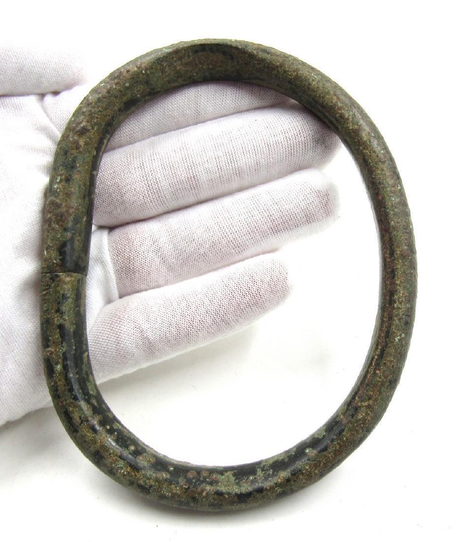 Ancient Bronze Age Bracelet / Arm Ring - 3