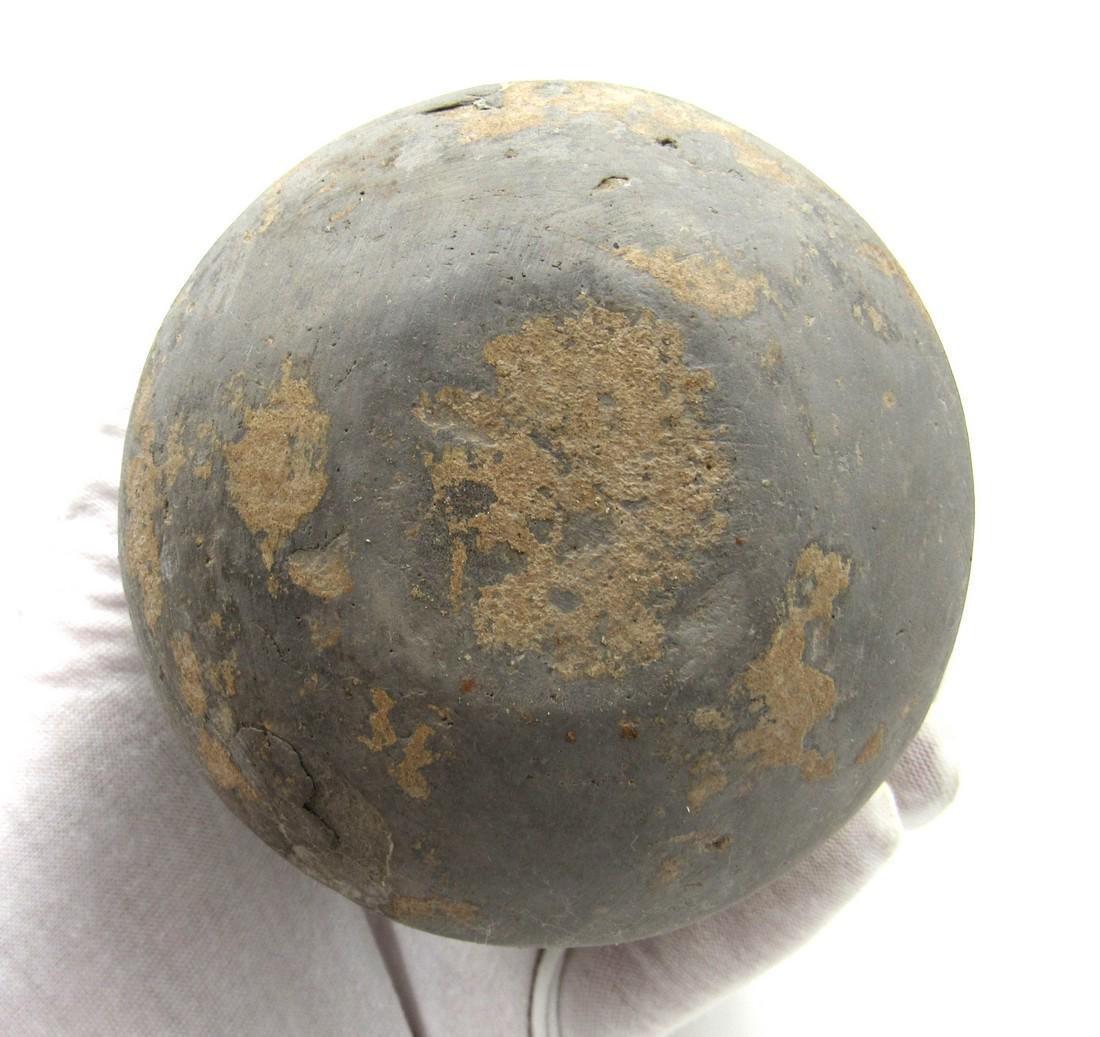Ancient Greek Terracotta Blackware Jar - 4