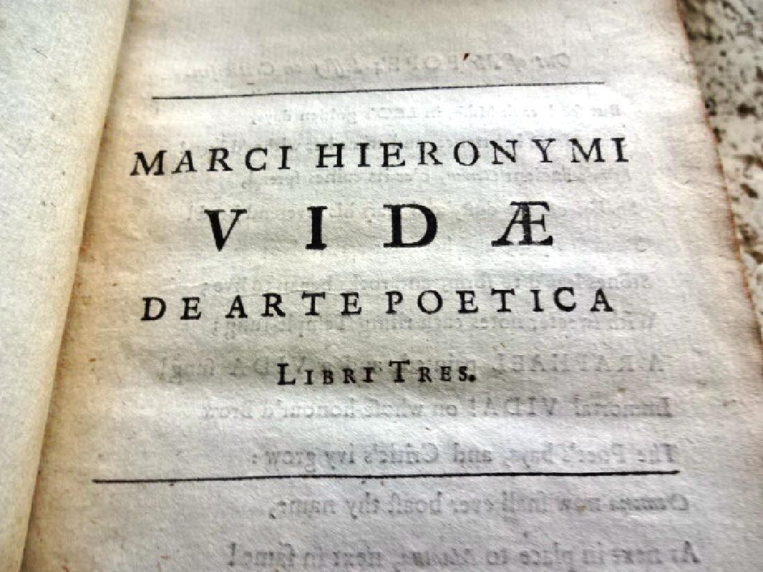 1703 Clarendon Press Hieronymi De Are Poetica - 2