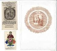 18th C Lot Religious Engravings