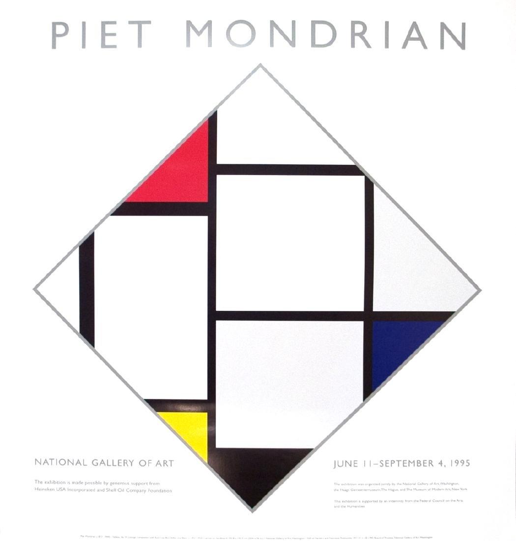 Piet Mondrian Serigraph National Gallery