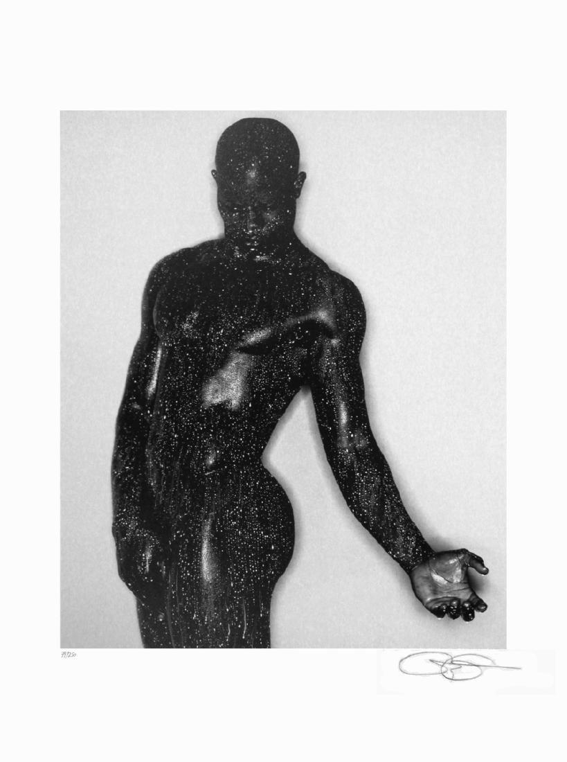 Greg Gorman Offset Lithograph Djimon