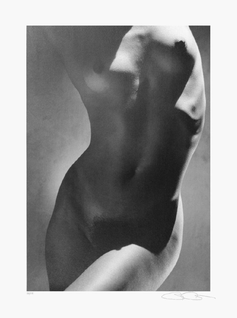Greg Gorman Offset Lithograph Female Torso