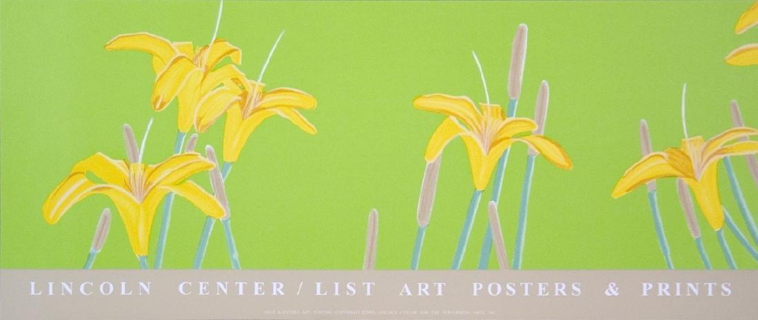 Alex Katz Serigraph Day Lilies