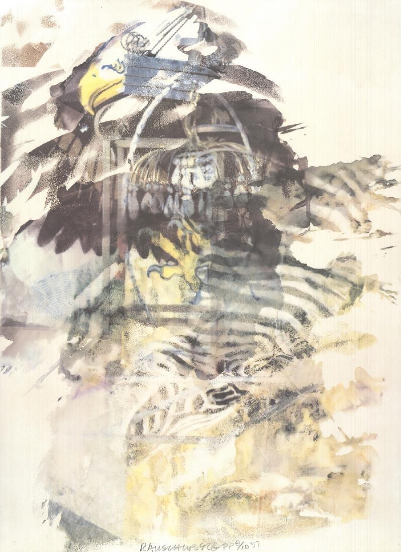Robert Rauschenberg Offset Lithograph Eagle