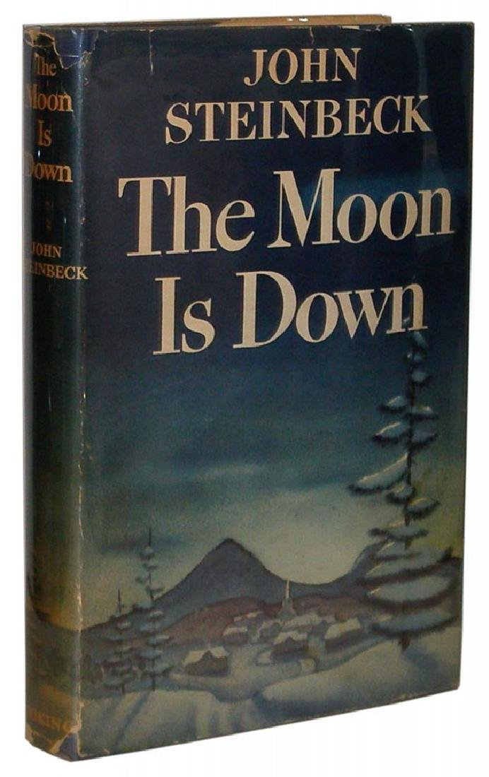 The Moon is Down Steinbeck, John First edition, first