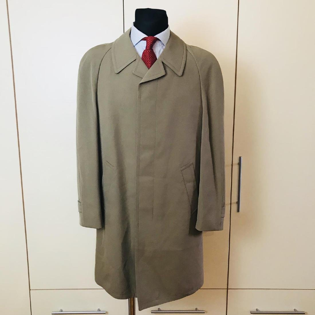 Vintage Men's Trench Coat Size US 38 EUR 48