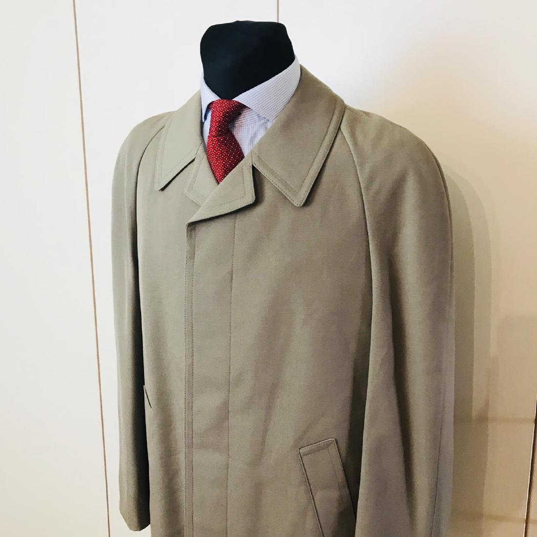Vintage Men's Trench Coat Size US 38 EUR 48 - 2