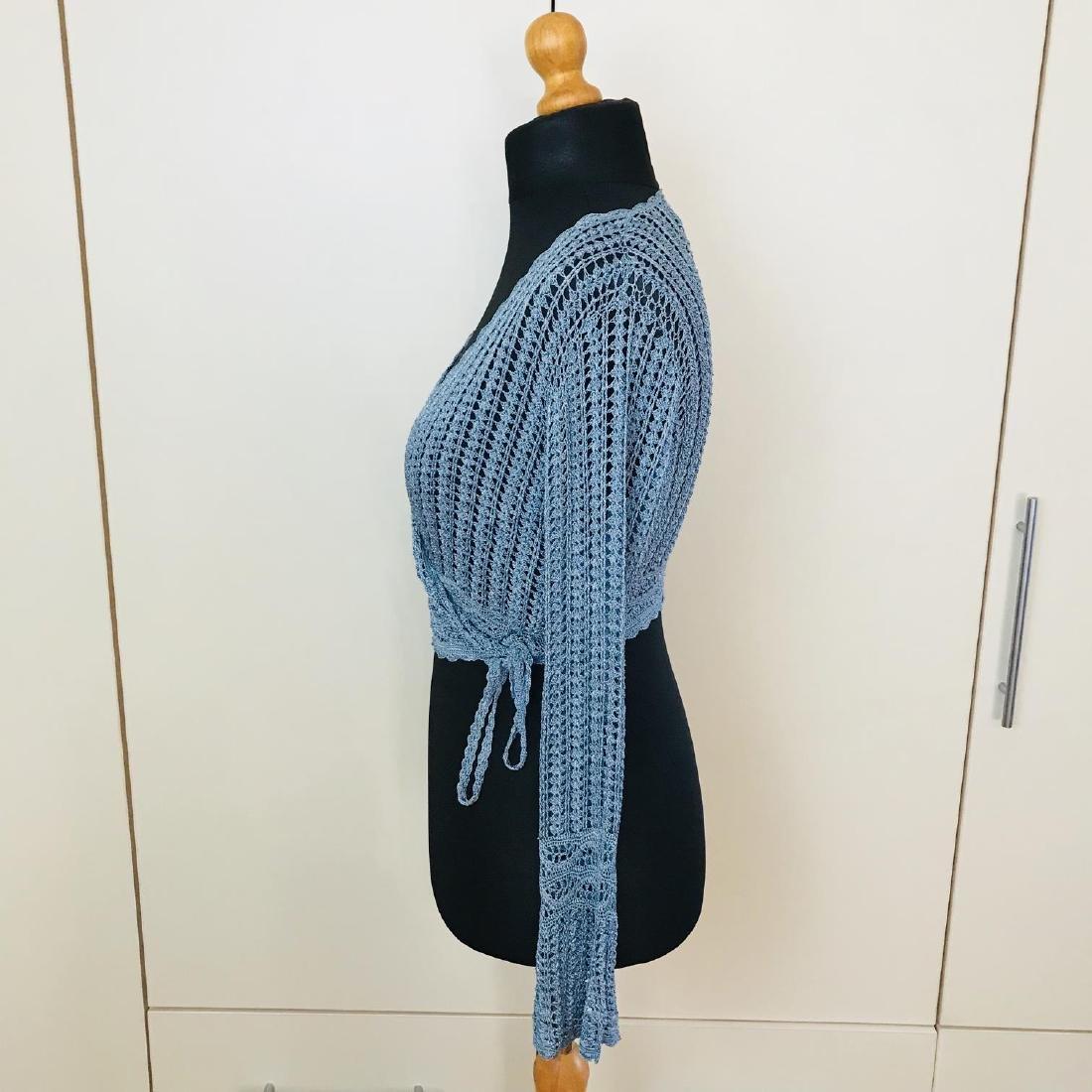 Vintage Women's Designer Sweater Cardigan Top Size US 6 - 4