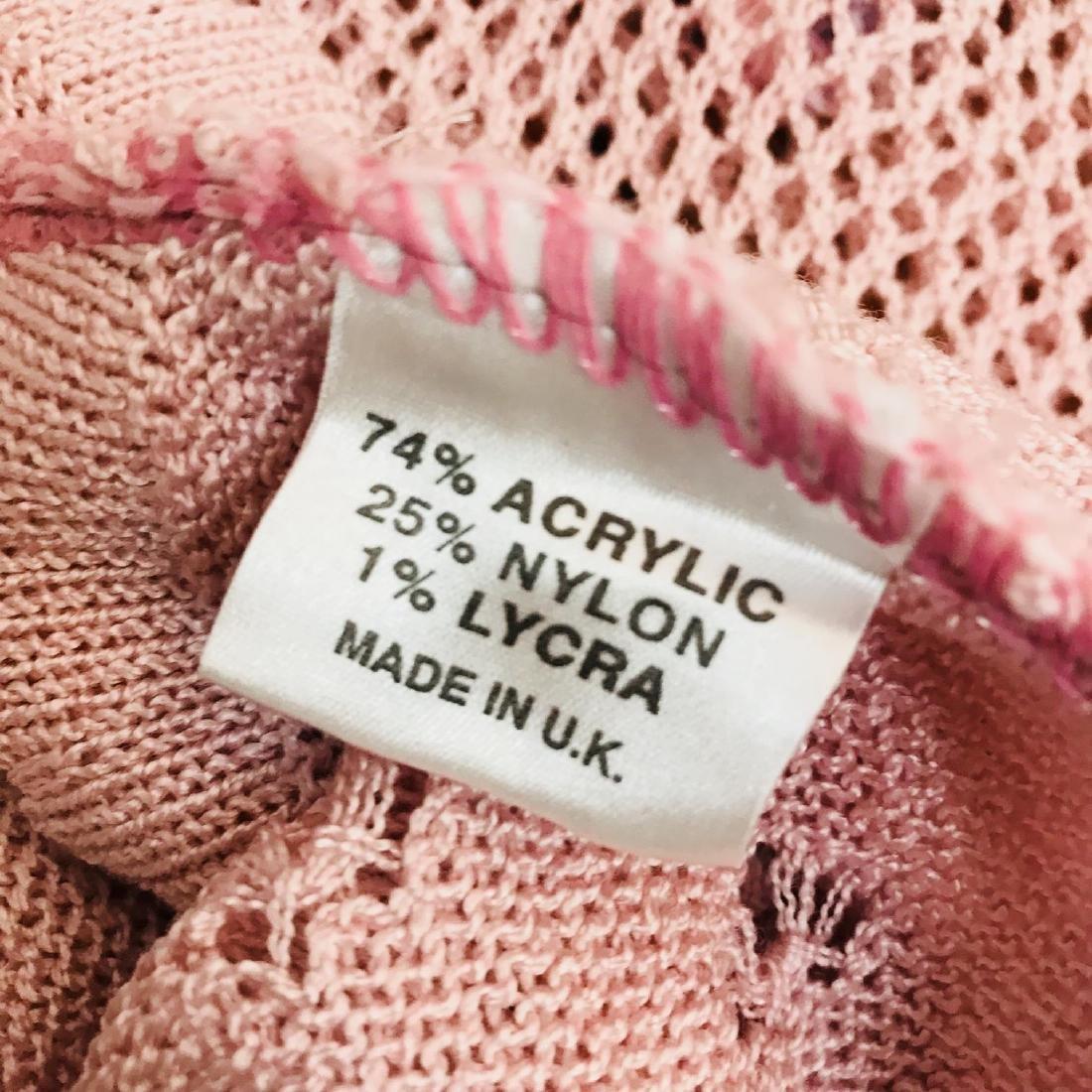 Vintage Women's Pink Sweater Top Size US 10 EUR 40 - 8