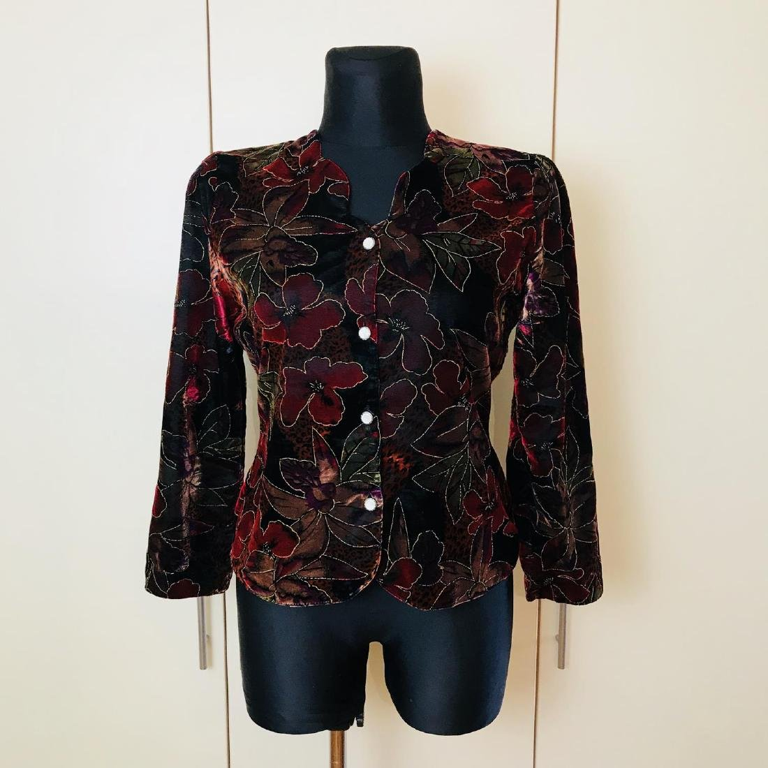Vintage Women's Jacket Blazer Top Size US 10 EUR 40