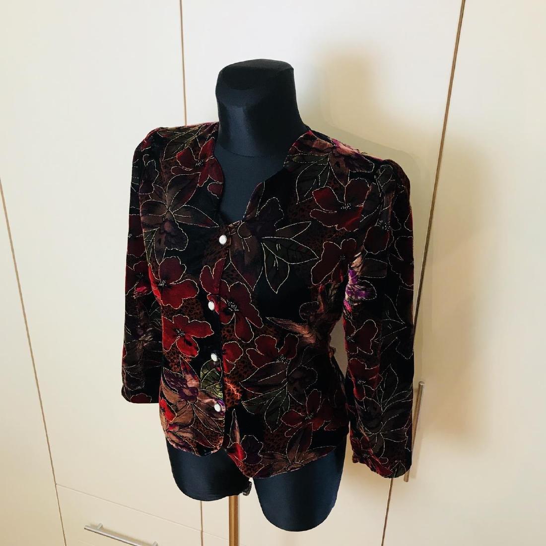 Vintage Women's Jacket Blazer Top Size US 10 EUR 40 - 3