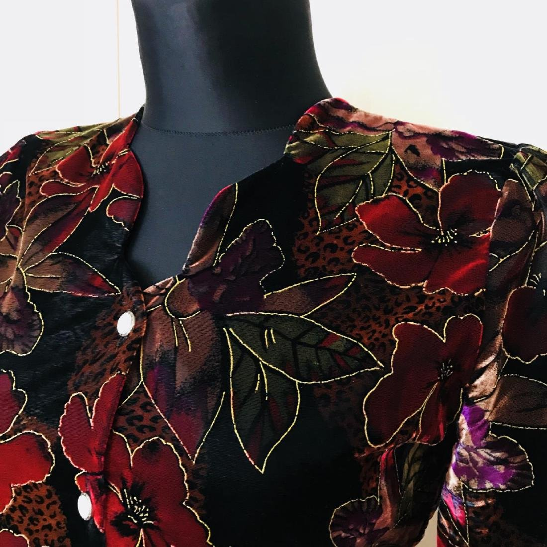 Vintage Women's Jacket Blazer Top Size US 10 EUR 40 - 4