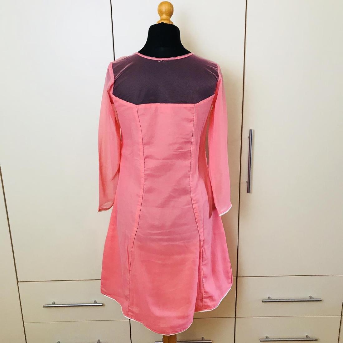 Vintage Women's Pink Party Dress Size US 6 EUR 36 / - 5