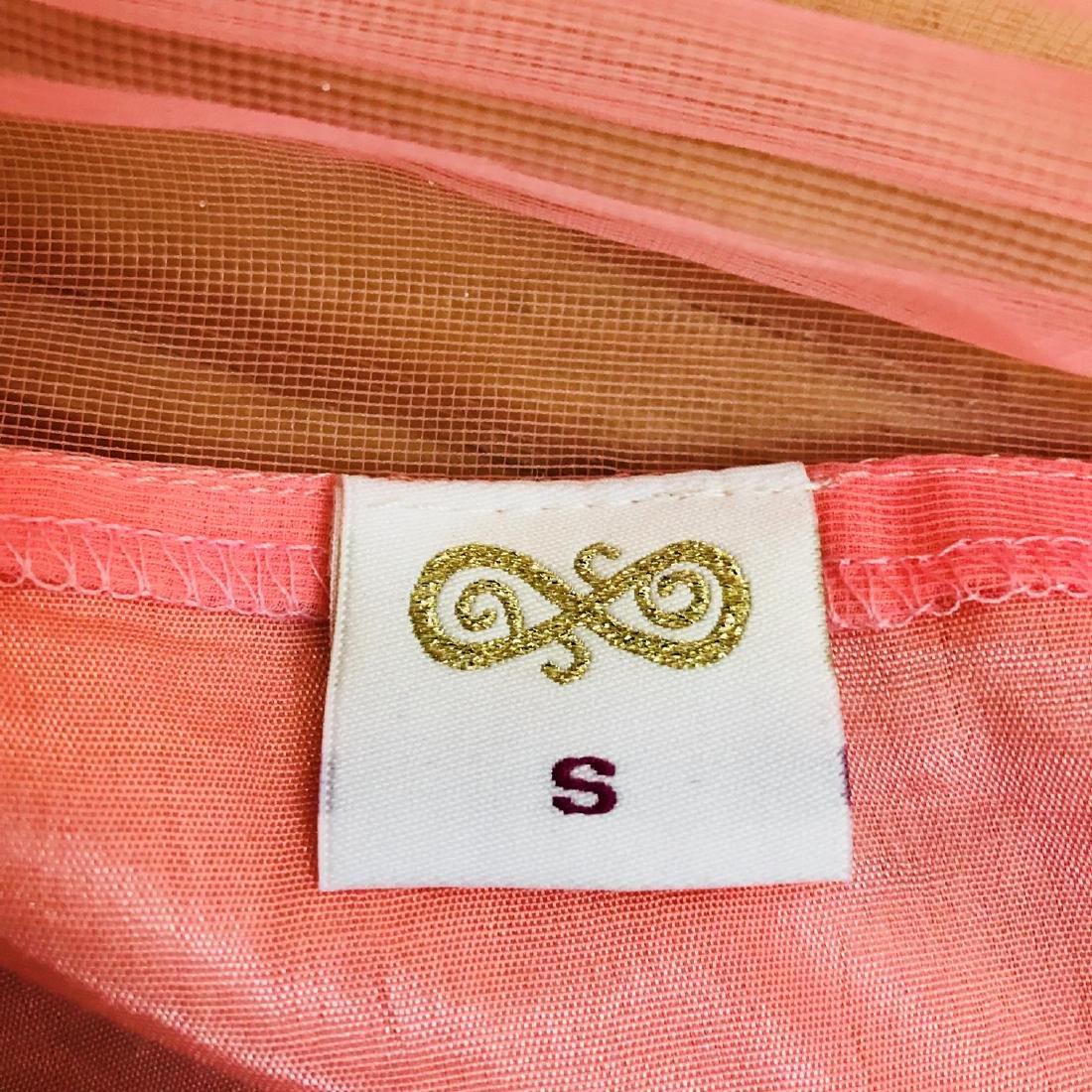Vintage Women's Pink Party Dress Size US 6 EUR 36 / - 6