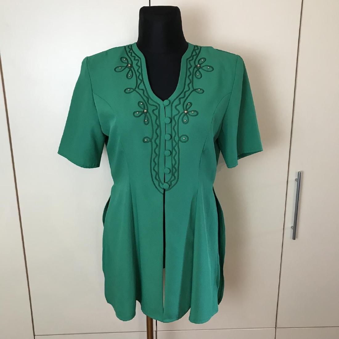 Vintage Women's Blouse Shirt Jacket Size US 12 UK 16