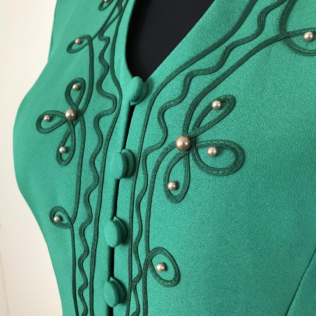 Vintage Women's Blouse Shirt Jacket Size US 12 UK 16 - 3