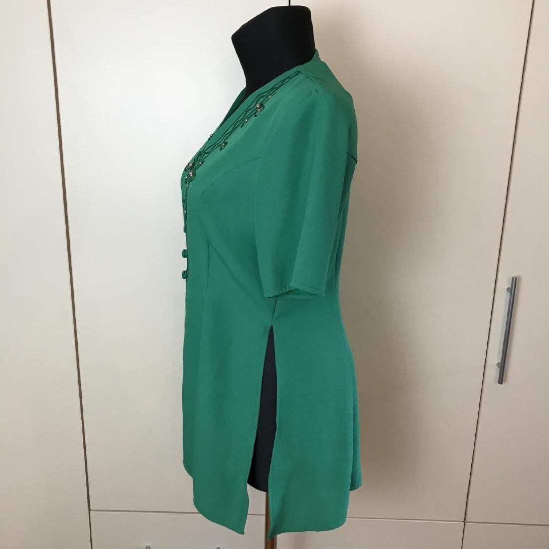 Vintage Women's Blouse Shirt Jacket Size US 12 UK 16 - 4