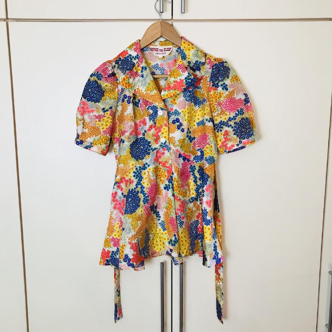 Vintage Women's Blouse Shirt Size US 8 EUR 38
