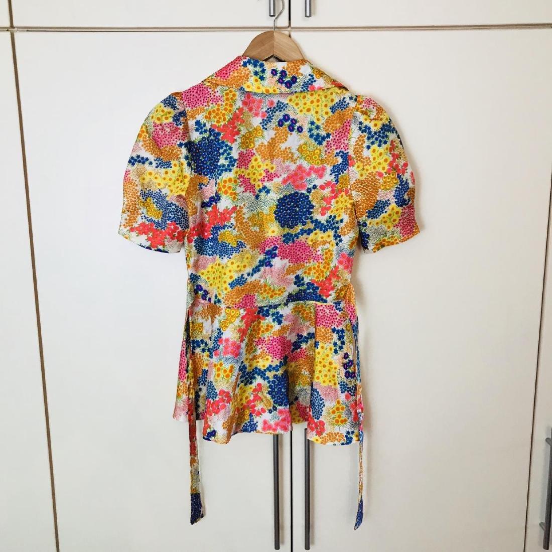 Vintage Women's Blouse Shirt Size US 8 EUR 38 - 4